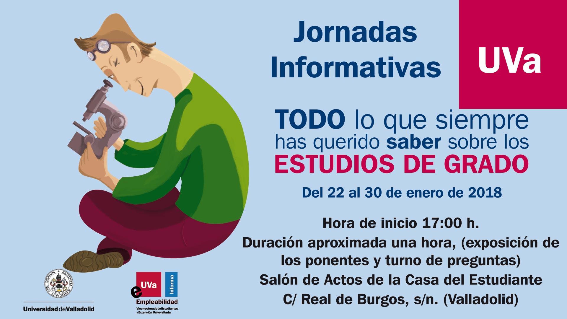 Jornadas Informativas Universidad De Valladolid Ies Núñez De Arce